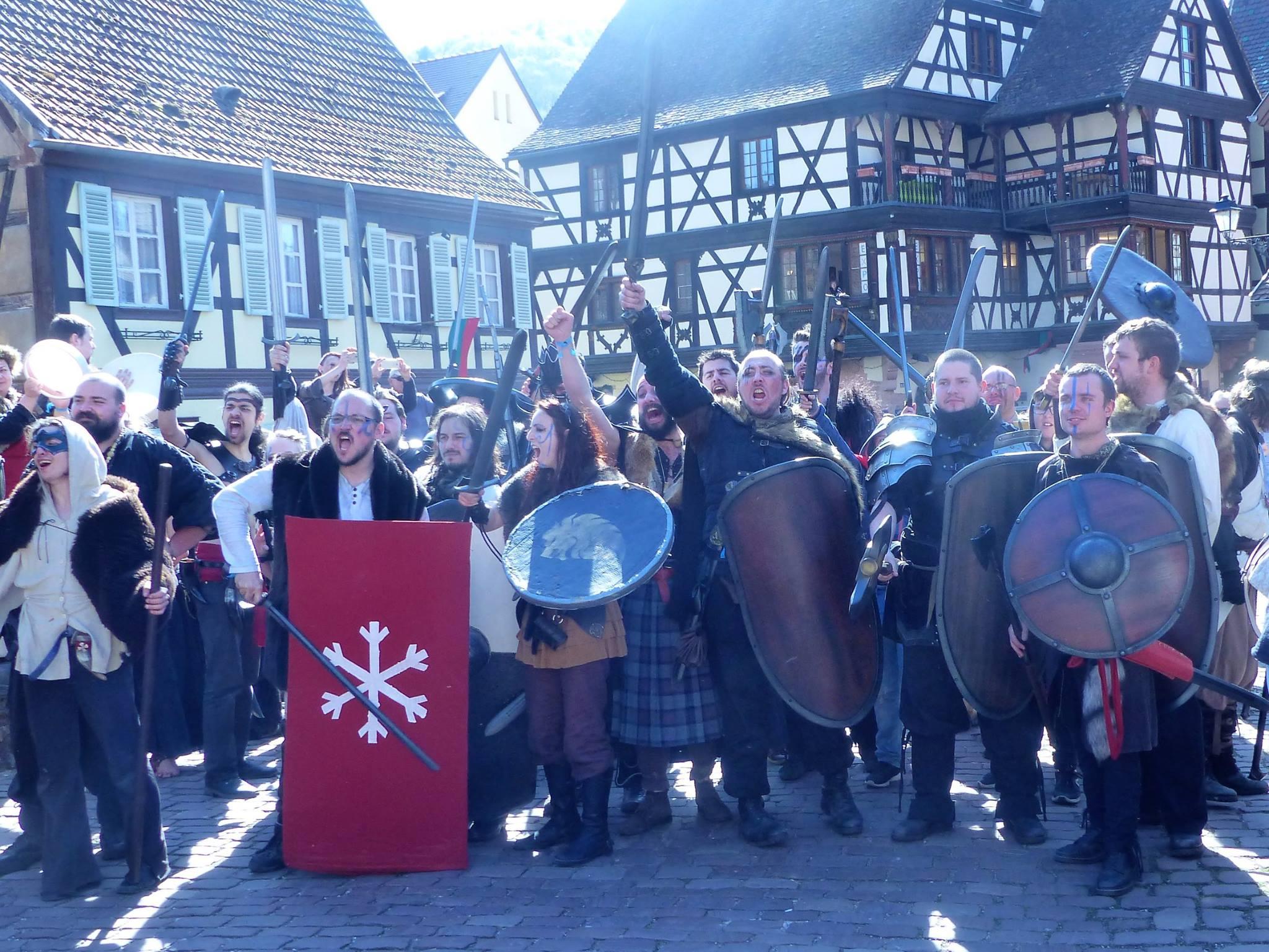 Les clans Barbares prêts à l'action !