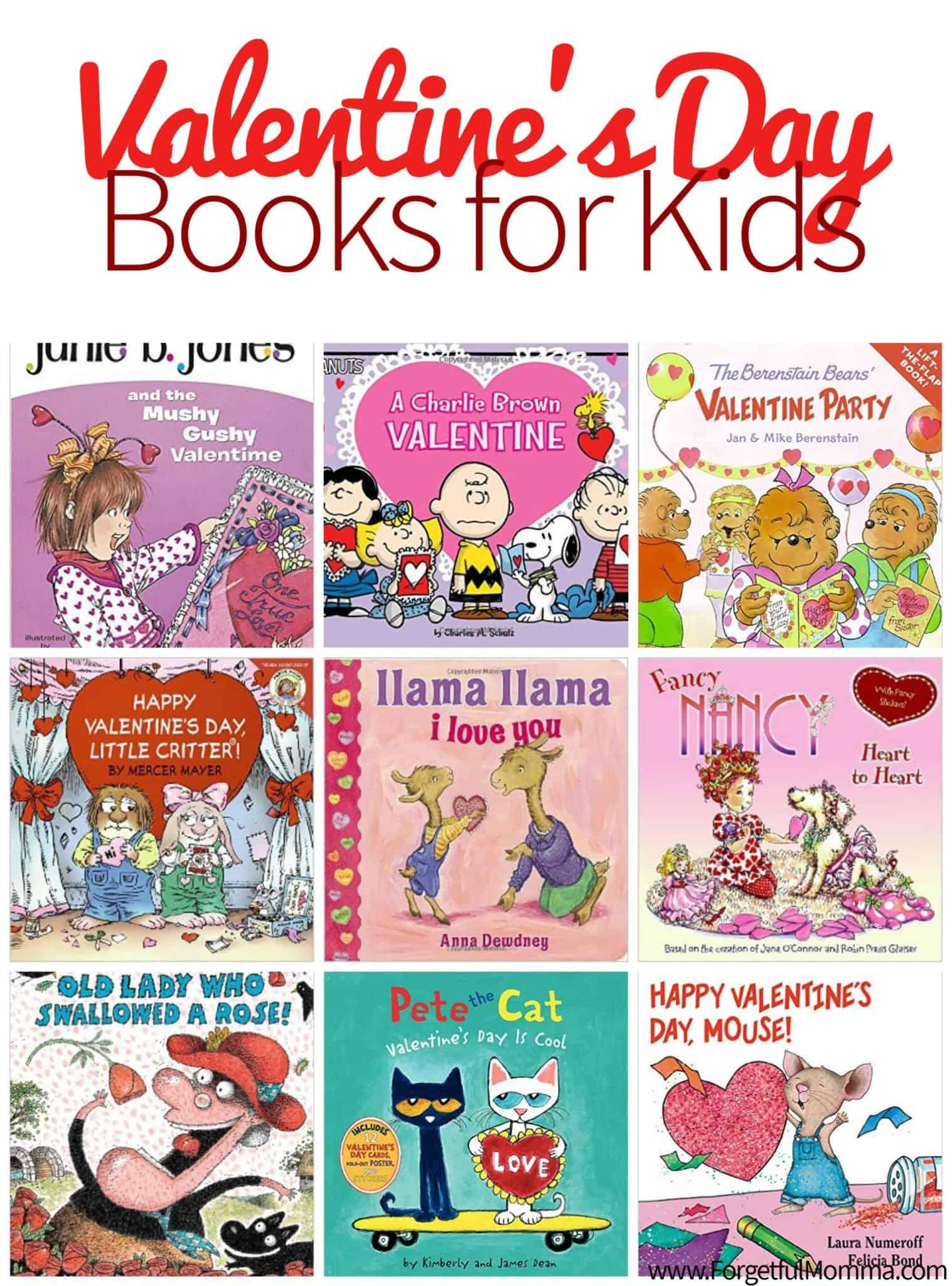 Valentine S Day Books For Kids