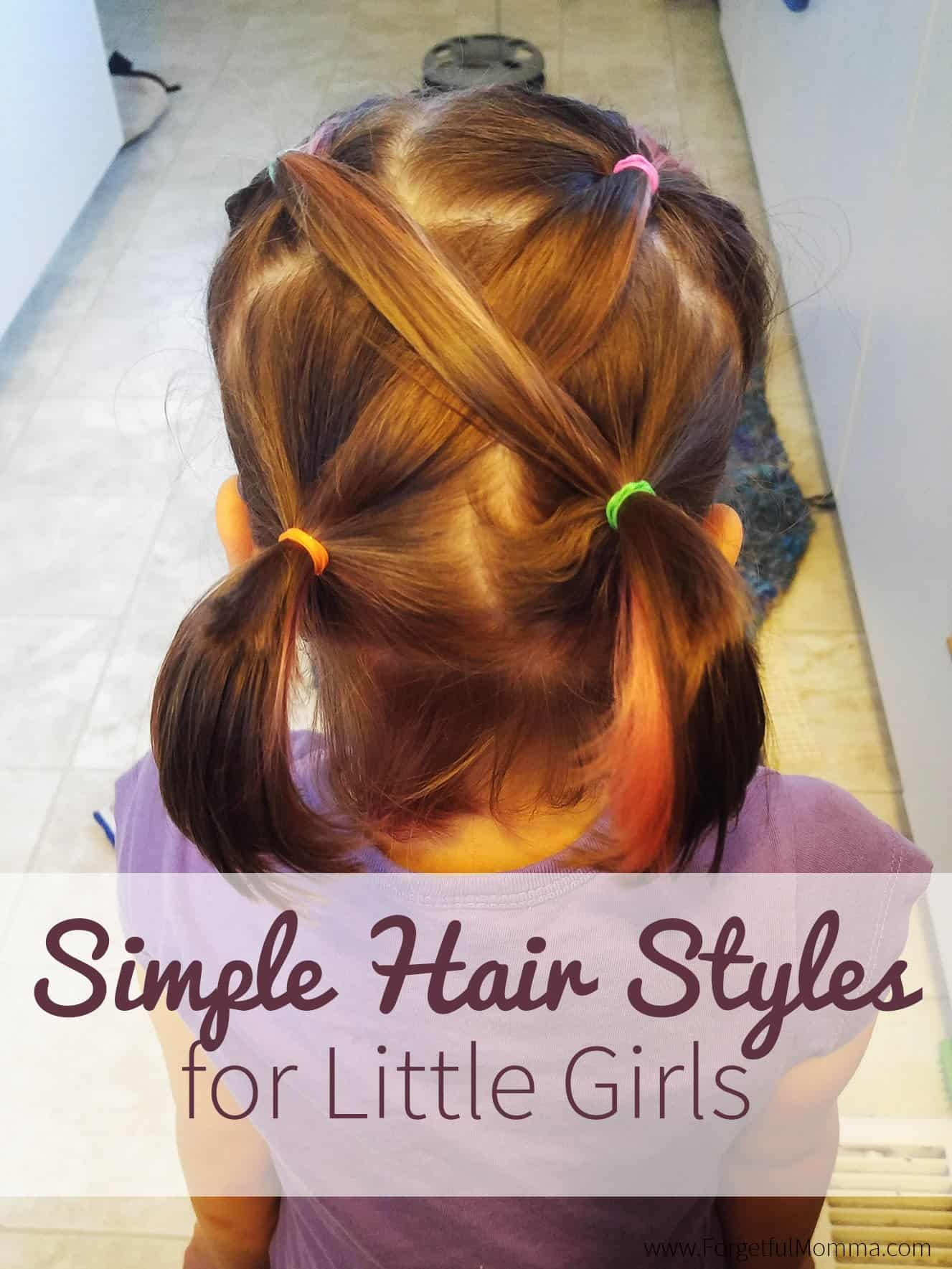 Back To School Hair Styles For Little Girls Forgetful Momma