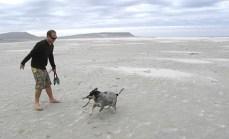 Noordhoek beach. The new rubbish dump