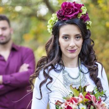 Невероятната сватба на вълшебната Виктория.