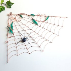 https://www.etsy.com/ca/listing/105844427/large-copper-spider-web-and-spider-wire?
