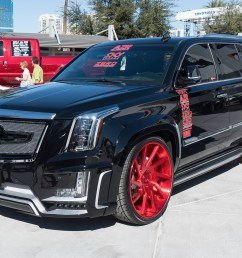 cadillac escalade on s217 wheels [ 1500 x 1000 Pixel ]