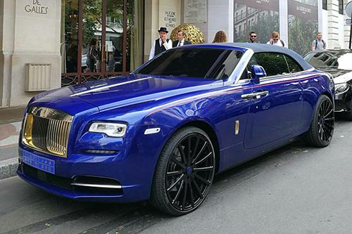 2017 Rolls Royce Convertible