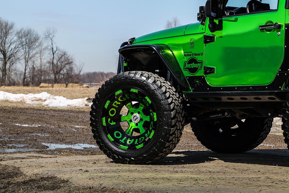 Jeep Wrangler on 2414 Terra Wheels