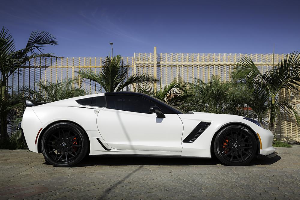 2017 Corvette Zo6 White
