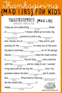 Thanksgiving: A Homeschool Lesson Plan For Slackers