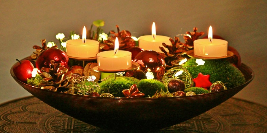One Of My Favorite Christmas Decorations Is The Advent Wreath