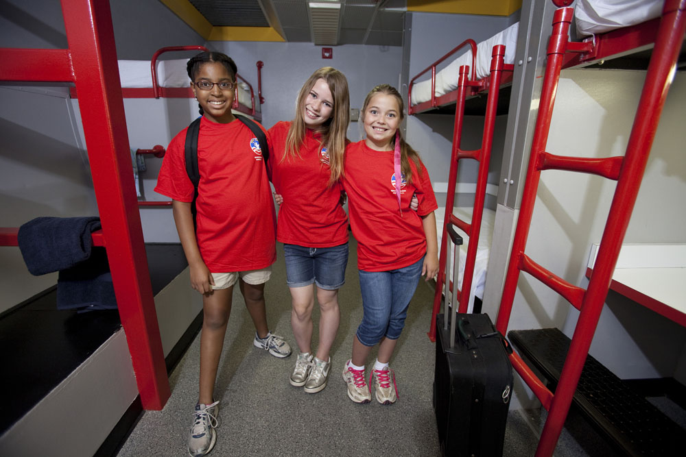 Girl Scouts  For Girls  Travel  Space Camp Pathfinder