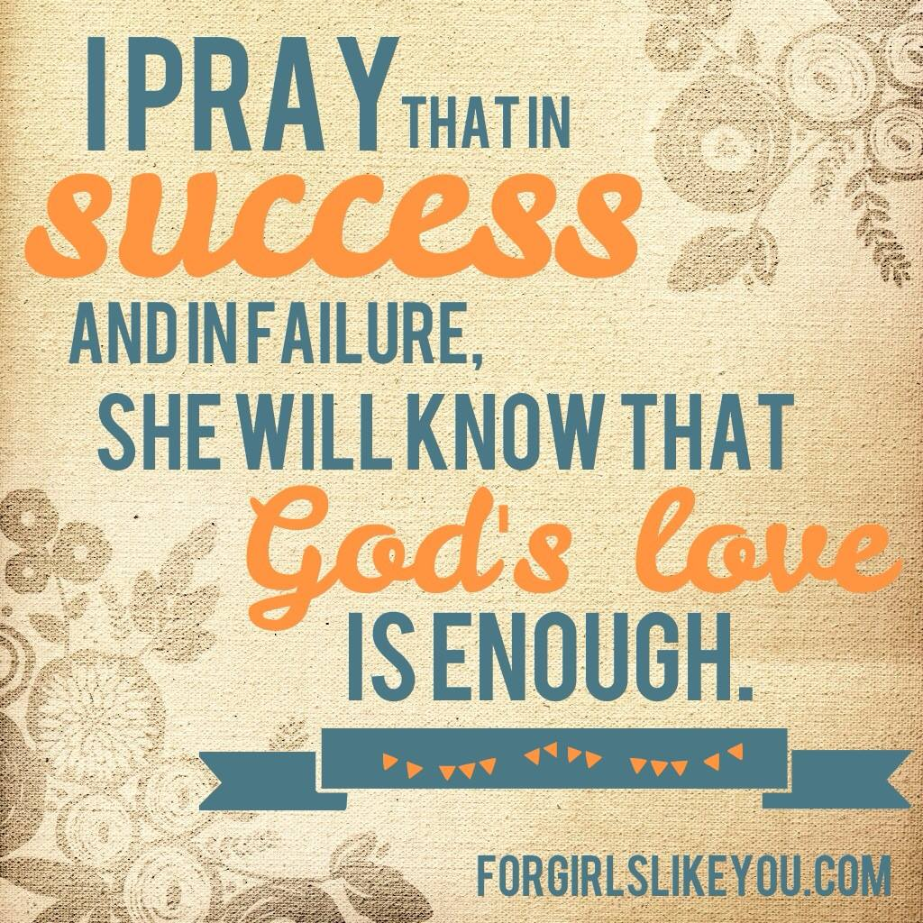God's love is enough