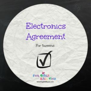 iPod Agreements for Tweens