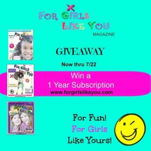 For Fun, For Girls Like Yours Giveaway!