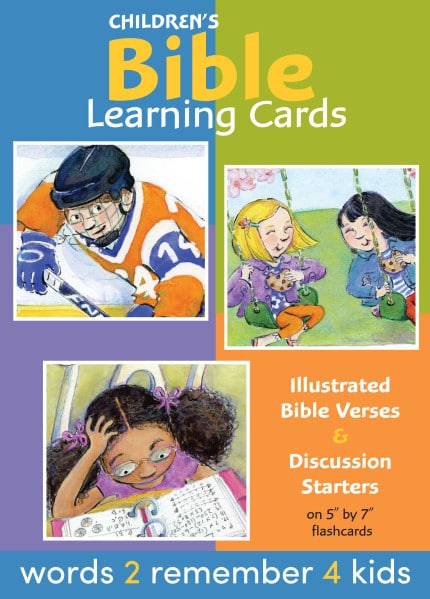 Bible Verse for kids flash cards front final