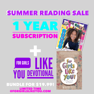 Scripture Cards For Tweens and Summer Reading