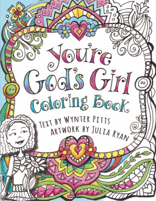 Youre Gods Girl Coloring Book