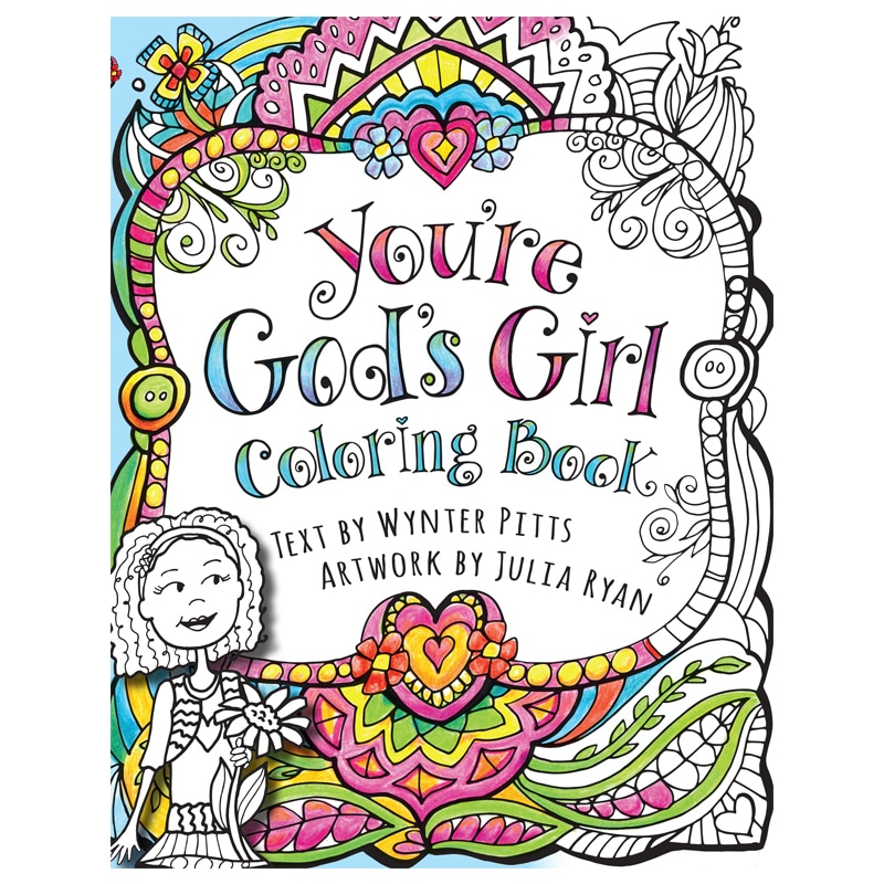 You Re God S Girl Coloring Book For Girls Like You