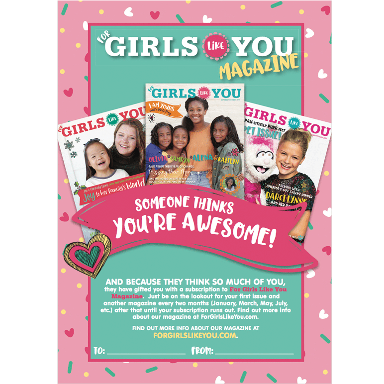 2020 Gift Subscription 6 Issues For Girls Like You