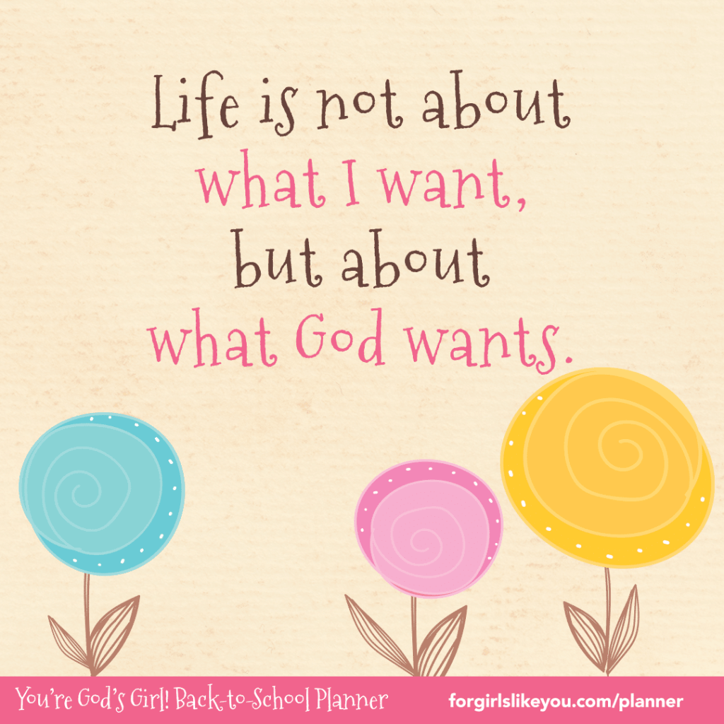 You're God's Girl Back-to-School Planner