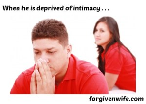 What happens to your husband's heart when he is deprived of sexual intimacy?