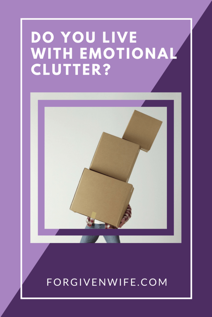 Do you allow yourself to be cluttered and overwhelmed by your emotional baggage?