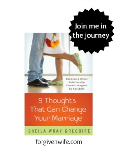 Join me in reading through Sheila Gregoire's 9 Thoughts That Can Change Your Marriage!
