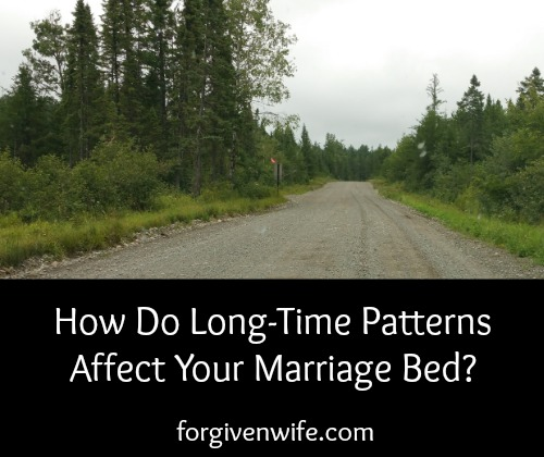 Do you find yourself stuck in any ruts on your journey toward renewed sexual intimacy?