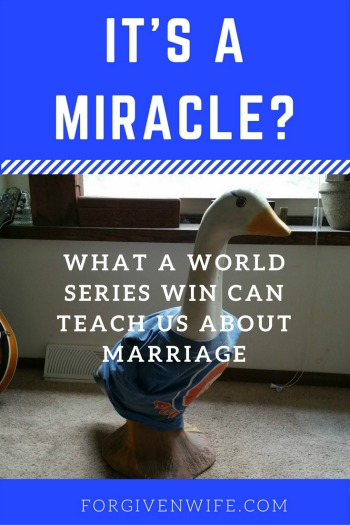 Are you waiting for a miracle in your marriage?