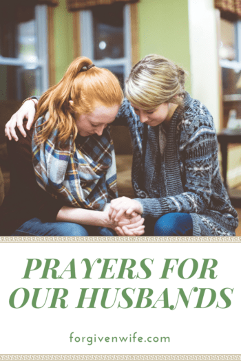 How can we pray for your husband?