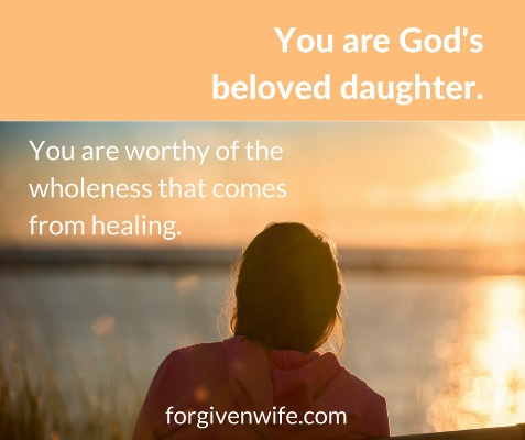 Remember whose daughter you are.