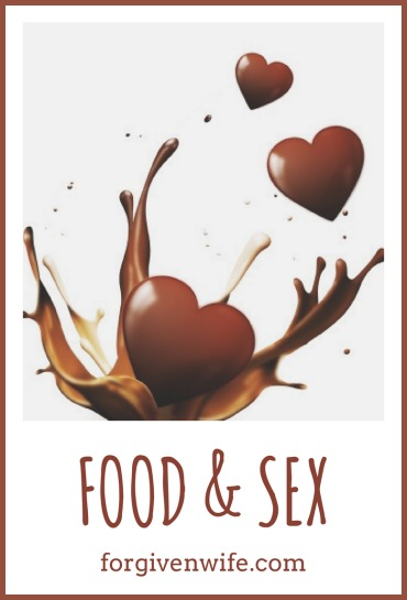 Food can add some fun and sexy sensations.