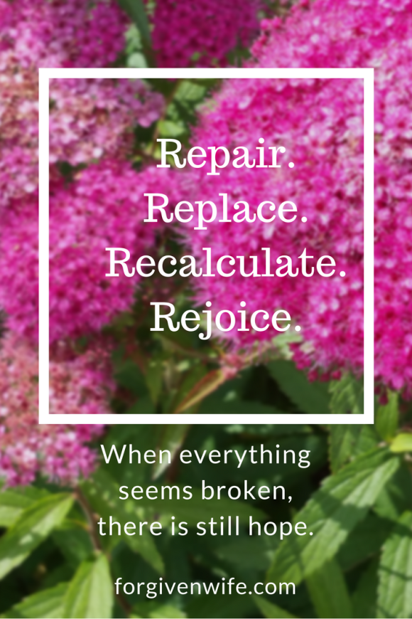 When everything seems to fall apart at once, it is an opportunity to rebuild into a new normal.