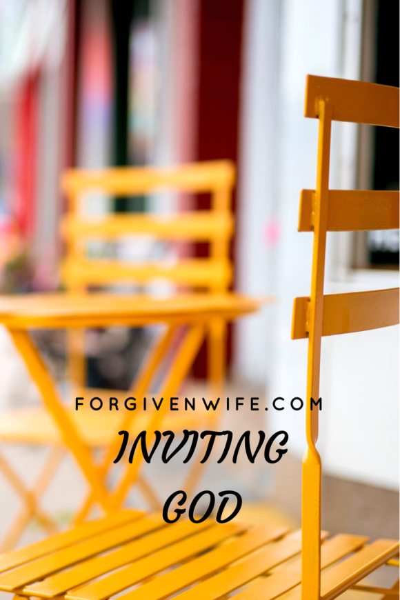 Invite God into your heart to help heal your marriage.