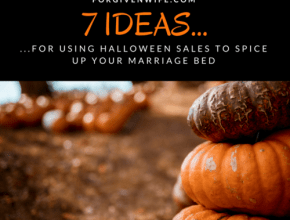 Use post-Halloween sales to spice up your marriage bed!