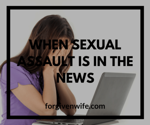 How can we respond when sexual harassment and assault are in the news?