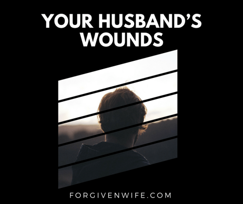 How many of our husbands bear scars from their own sexual sins?