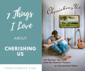 re you looking for a book that teaches you how to nurture your marriage every day? #cherishingus