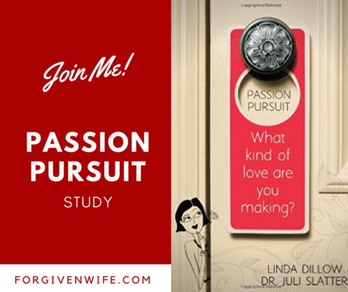 Join me as we go through Passion Pursuit, by Linda Dillow and Juli Slattery. #authenticintimacy
