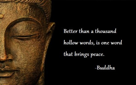 Letting Go of the Past Buddha