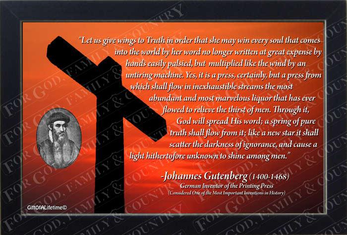 Johannes Gutenberg Quotes. QuotesGram