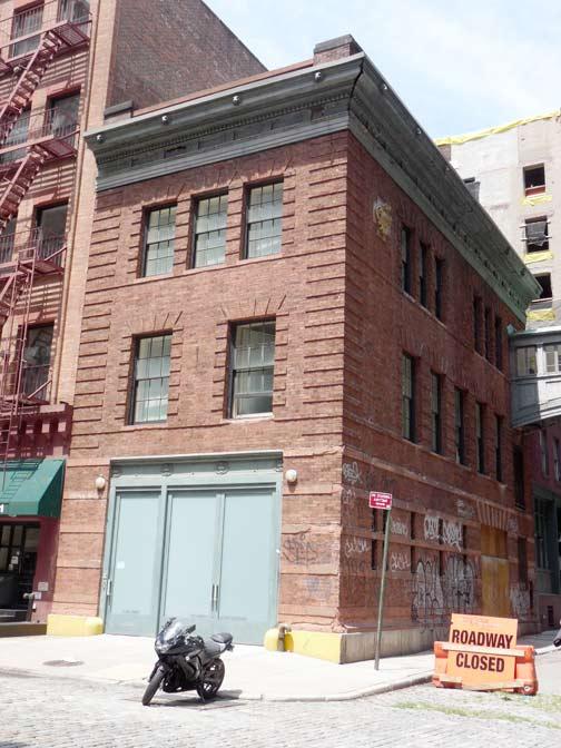 STAPLE STREET Tribeca  Forgotten New York