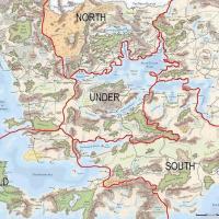 Geografia dei Reami: introduzione ai Reami Dimenticati (Forgotten Realms) - 1356 DR