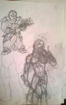 Chainer Darkbringer e Trinchetto