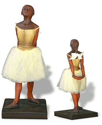 Edgar Degas THE FOURTEEN YEAR OLD LITTLE DANCER Sculpture