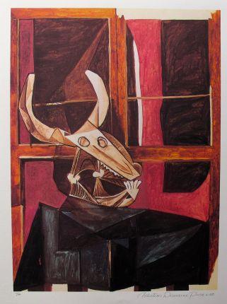 #087 BULLHEAD STILL LIFE Pablo Picasso Estate Signed Giclee