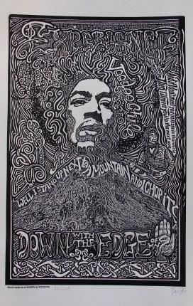 Jimi Hendrix Hand Signed
