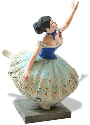 EDGAR DEGAS Green Ballet Danseuse Verte Ballerina Dancer Statue Sculpture