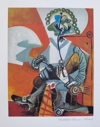 Picasso Buckled shoe man med