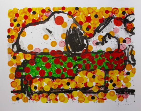 TOM EVERHART PLAY THAT FUNKY MUSIC Hand Signed Limited Edition Lithograph