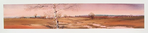 Ged Mitchell LANDSCAPE V Hand Signed Limited Edition Giclee