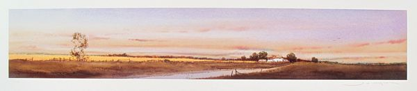 Ged Mitchell LANDSCAPE I Hand Signed Limited Edition Giclee
